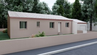 07- Plain Pied Traditionnelle 100 m²
