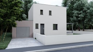 12bis- Bastide  contemporaine de 100 m²