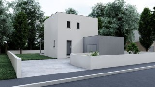 10bis- Bastide contemporaine de 80 m²