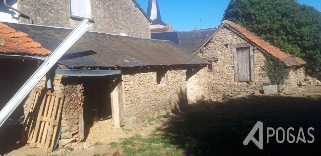 Maison de bourg avec jardin