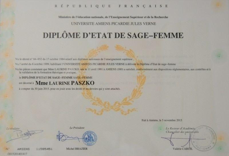 SAGE-FEMME - PASZKO Laurine