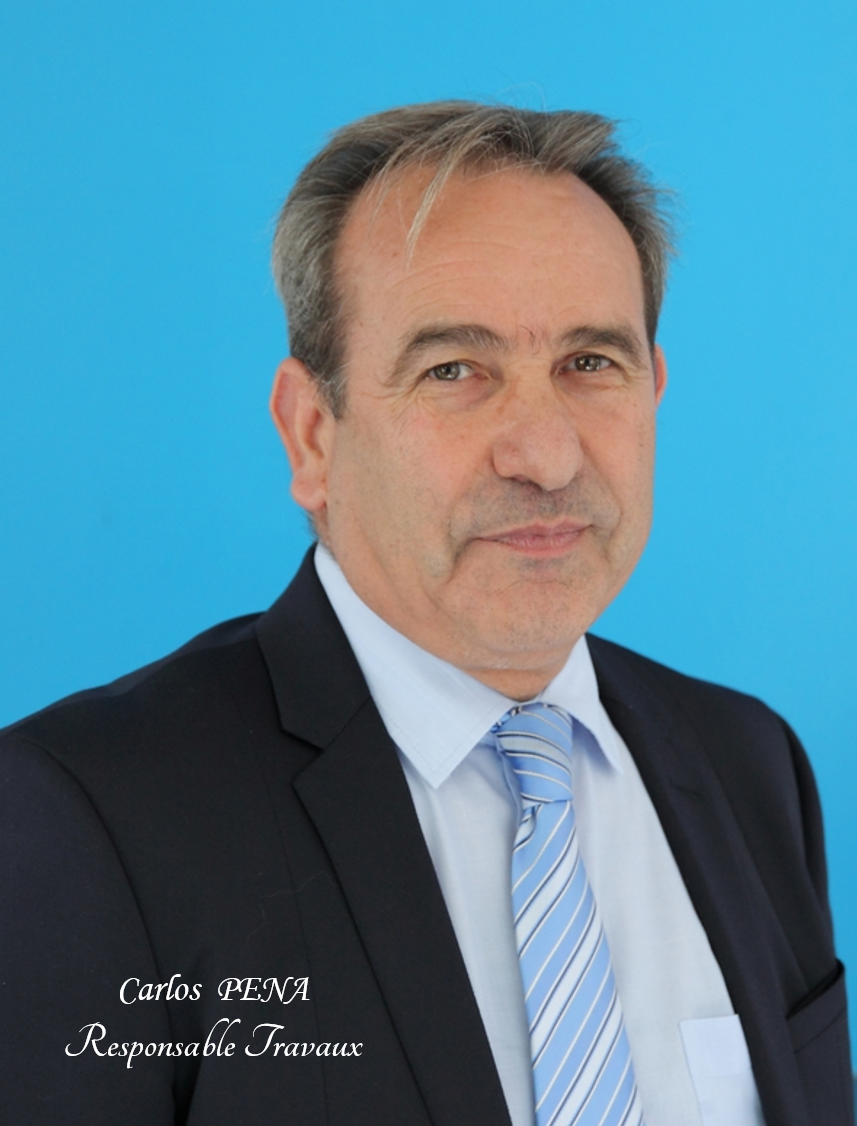 Carlos PENA - Responsable Travaux