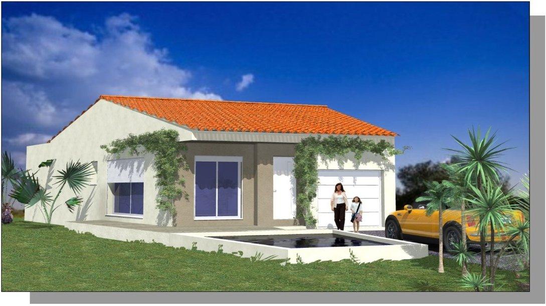 Maison villa Beaulieu Hérault Montpellier Pérols plans Constructeur Construction Clapiers Saint Jean de Védas Lavérune  Le Crès  Saint Aunès Vendargues - Baillargues