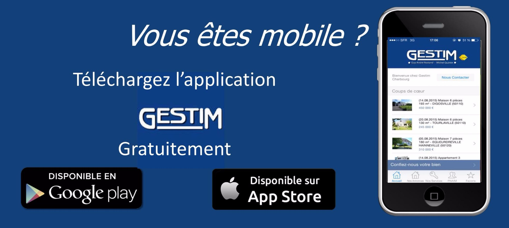 Application GESTIM