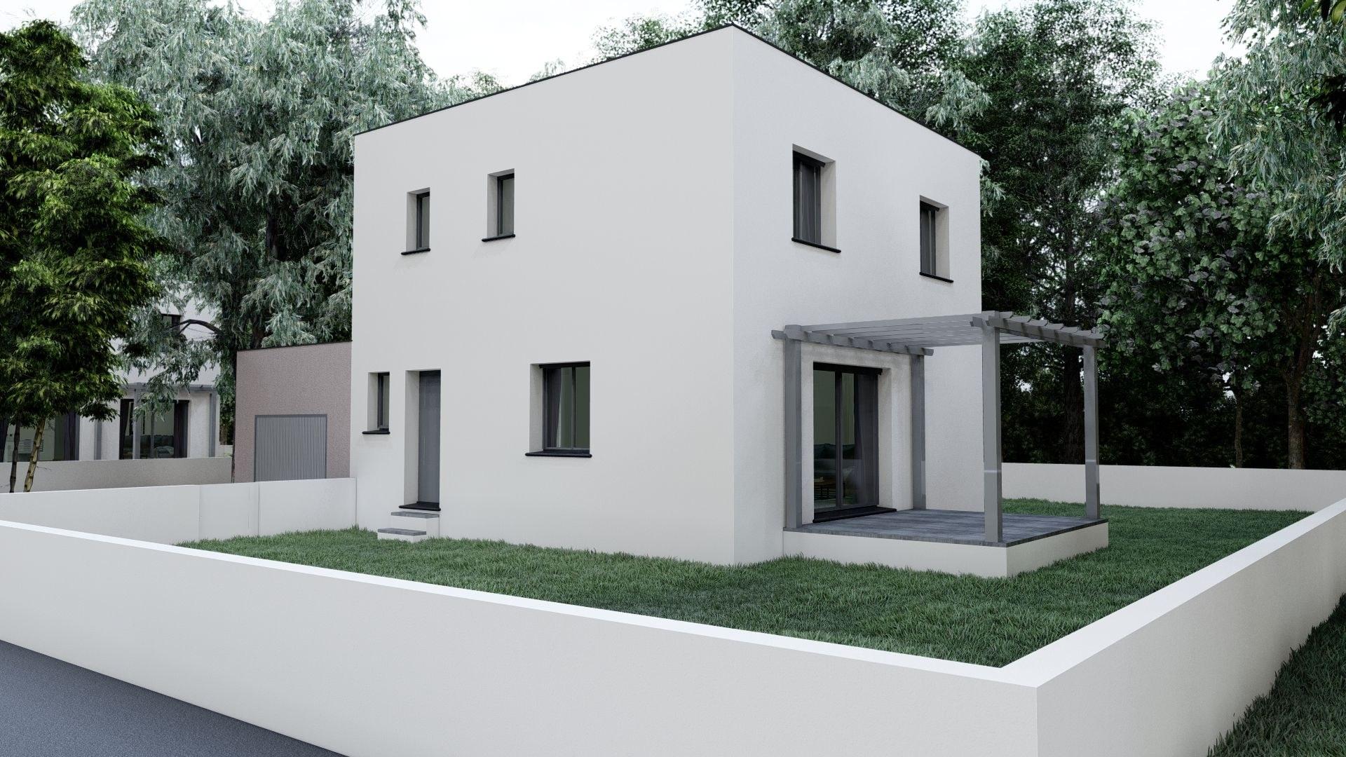 12bis- Bastide  contemporaine de 100 m²