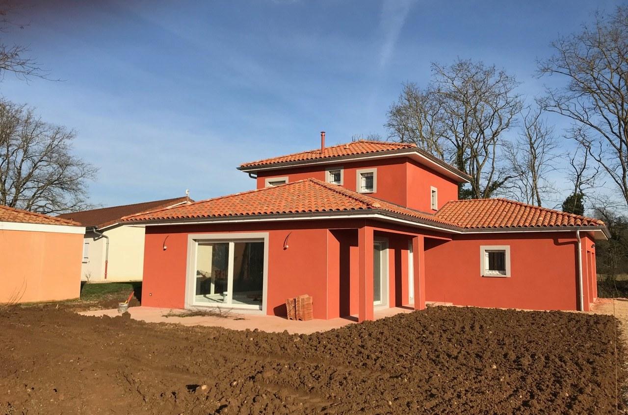 Maison neuve  construite Montagnat