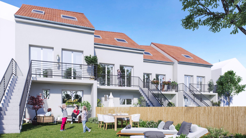 maison de ville neuve à vendre maxéville proximité nancy