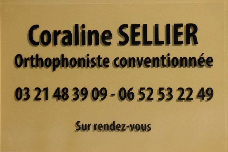 ORTHOPHONISTE - SELLIER Coraline