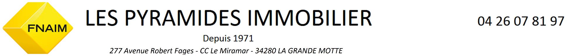 PYRAMIDES IMMOBILIER LA GRANDE MOTTE