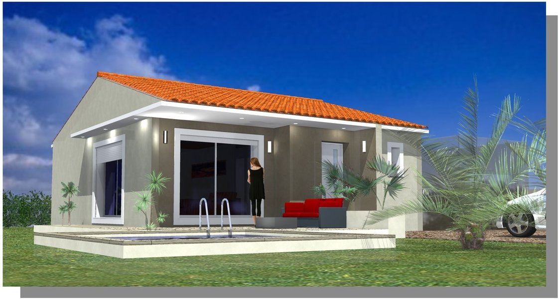 Maison Villa Béziers Construction Constructeur Saint Jean de Védas Pérols Plans RT 2012