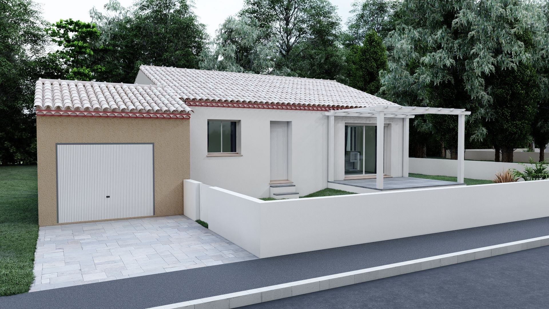 04- Plain Pied Traditionnelle 85 m²