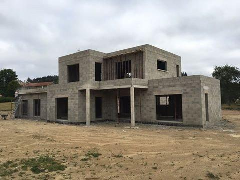 Maison toiture terrasse