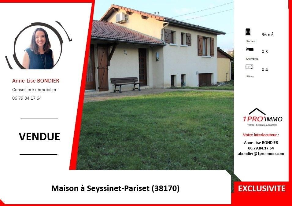 MAISON à SEYSSINET-PARISET, ILE NORD
