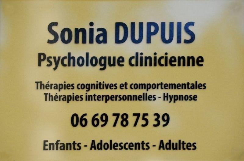 PSYCHOLOGUE - DUPUIS Sonia