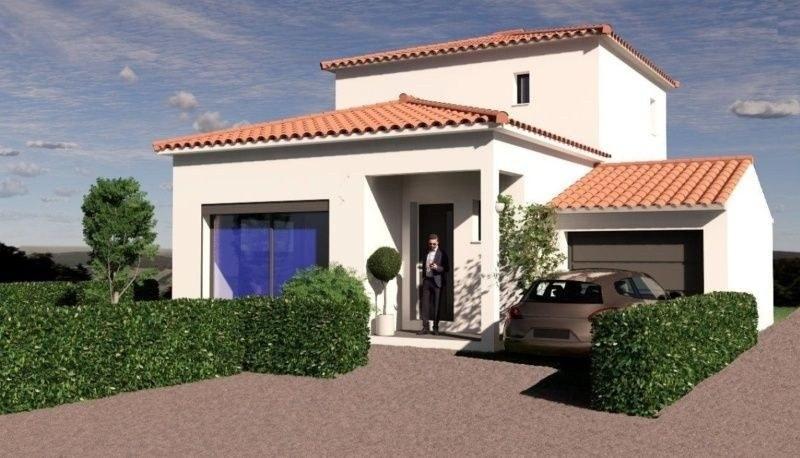 Villa T4 avec garage à Saussan