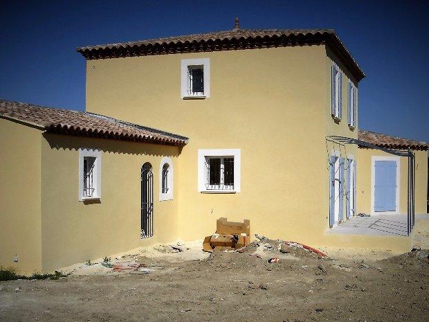 Villa réalisée à Saint Rémy de Provence