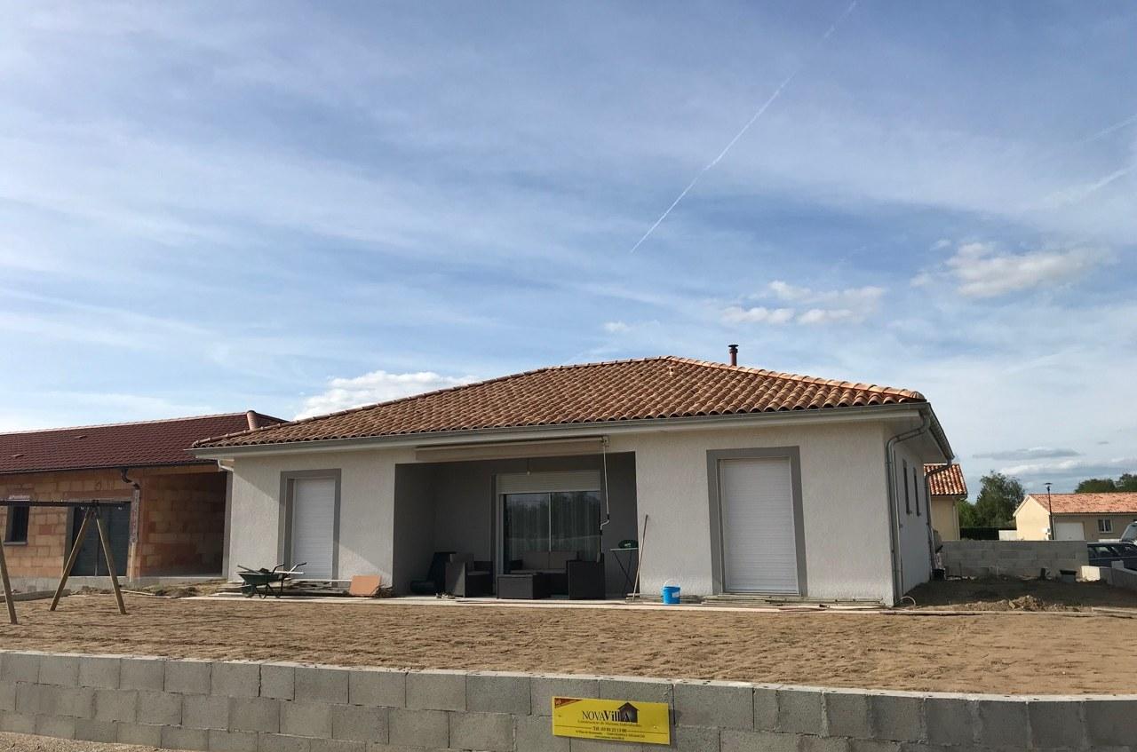 Maison construction neuve St André de Bagé