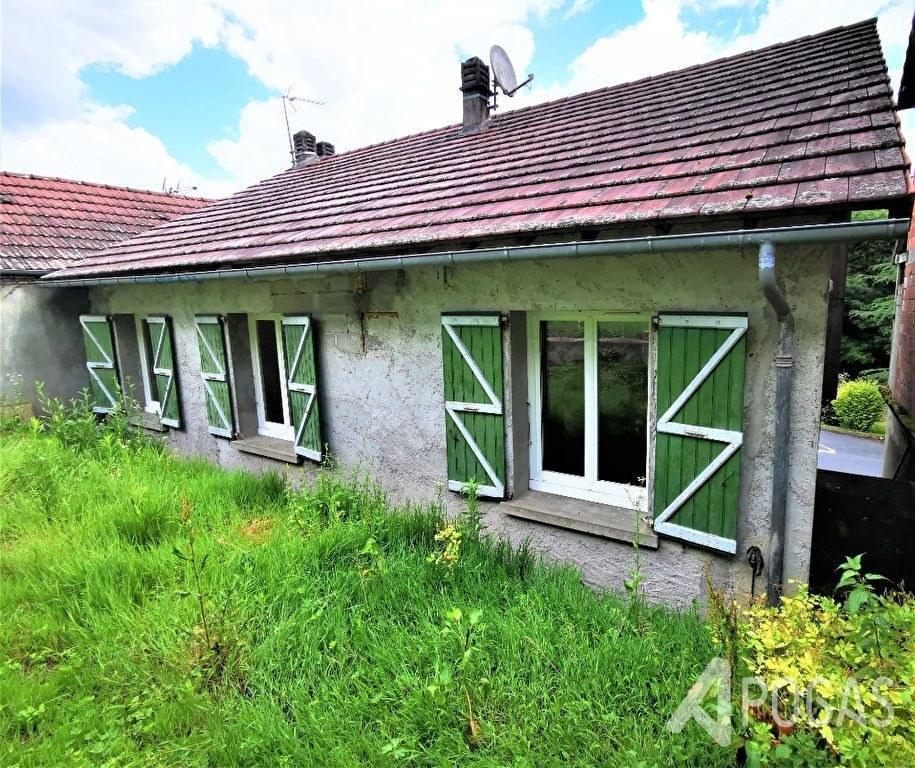 Maison d'habitation avec jardin