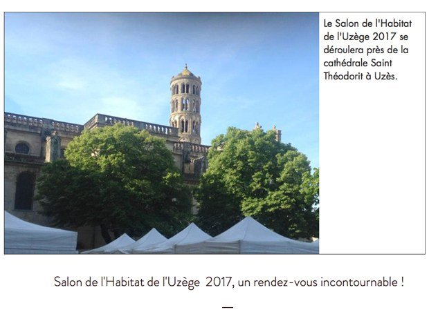 Salon de l'Habitat de l'Uzège 2017
