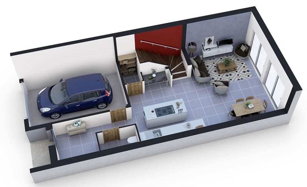 Maisons-city-maison-neuve-a-vendre-nancy-plan RDC