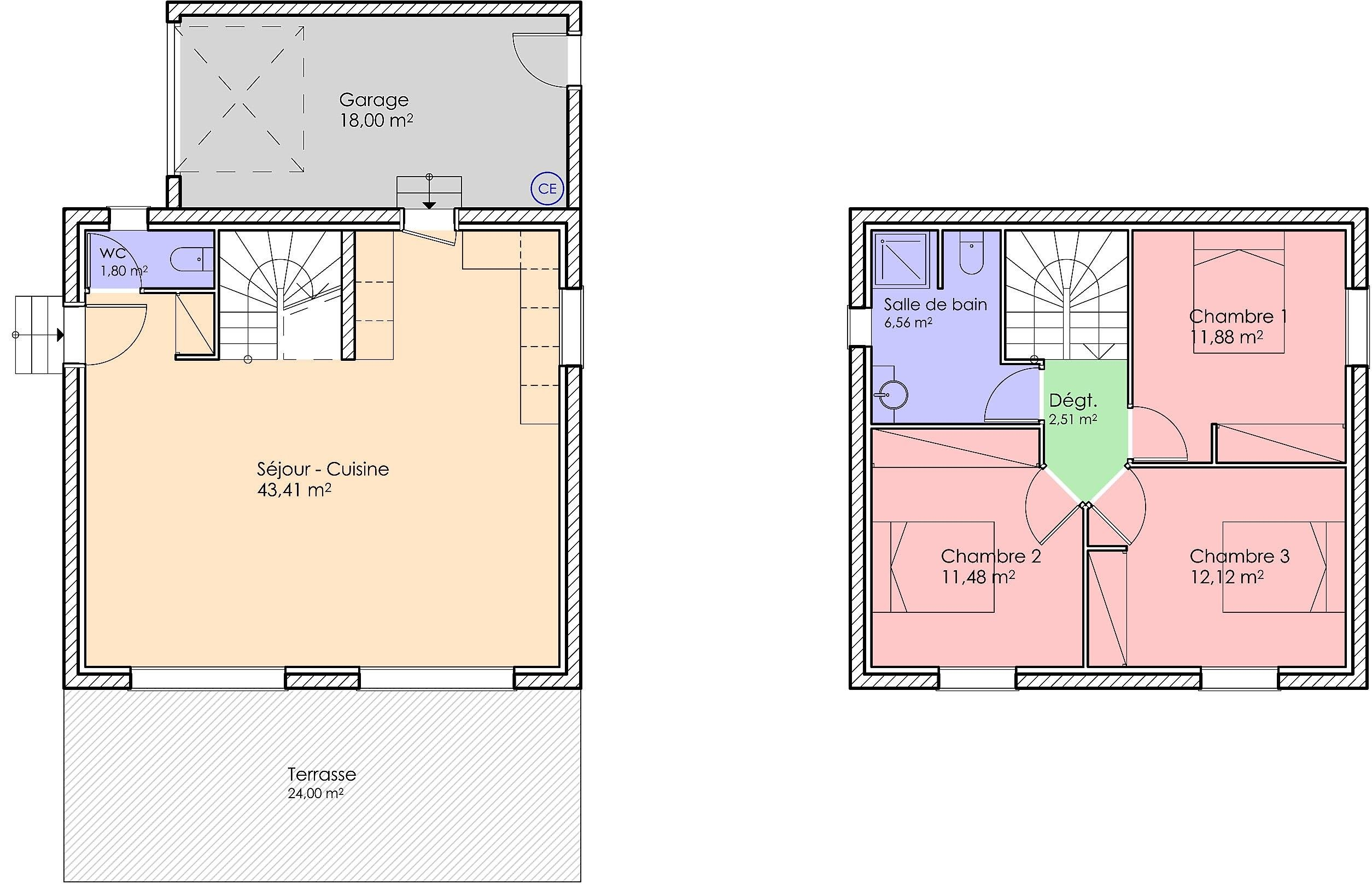 11bis- Bastide contemporaine de 90 m²