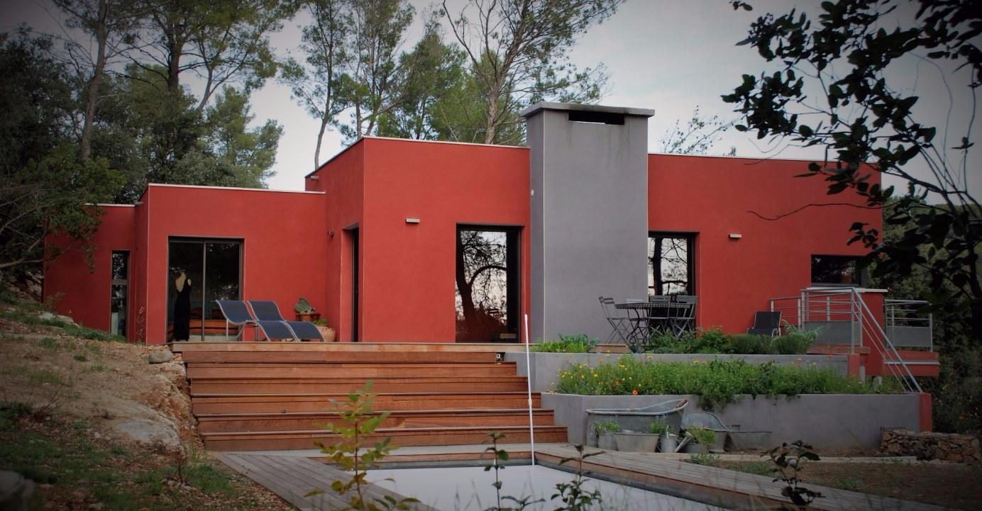 Second villa réalisée dans l'Herault