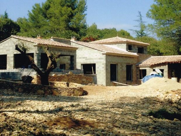 Maison traditionnelle de style provençal