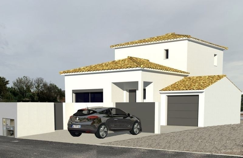 VILLA AVEC GARAGE + TERRAIN 415M² A BOISSIERES