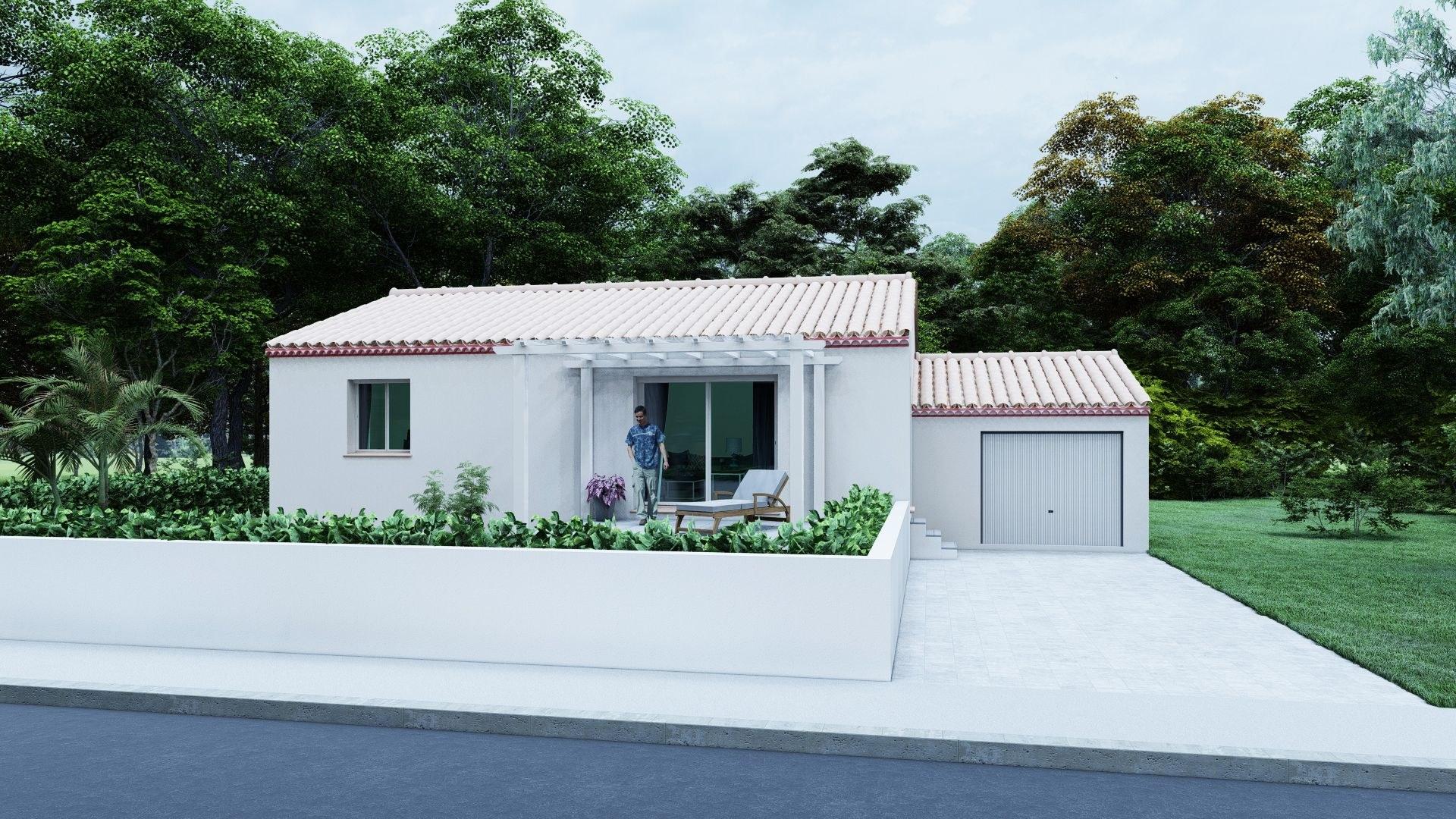 03- Plain Pied Traditionnelle 80 m²