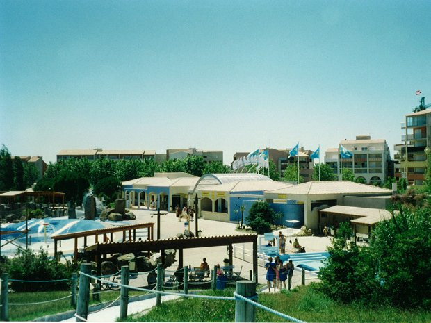 Rénovation du parc Aqualand Cap d'Agde