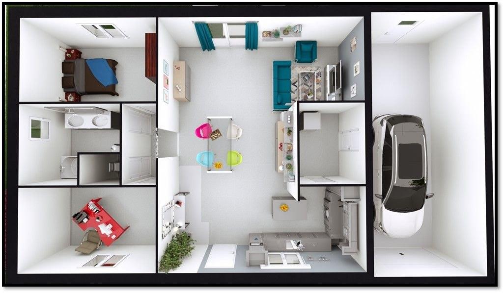 modèle-équilibre-maison-neuve-catalogue-le-coin-du-feu-75m²-2-chambres-plan-intérieur