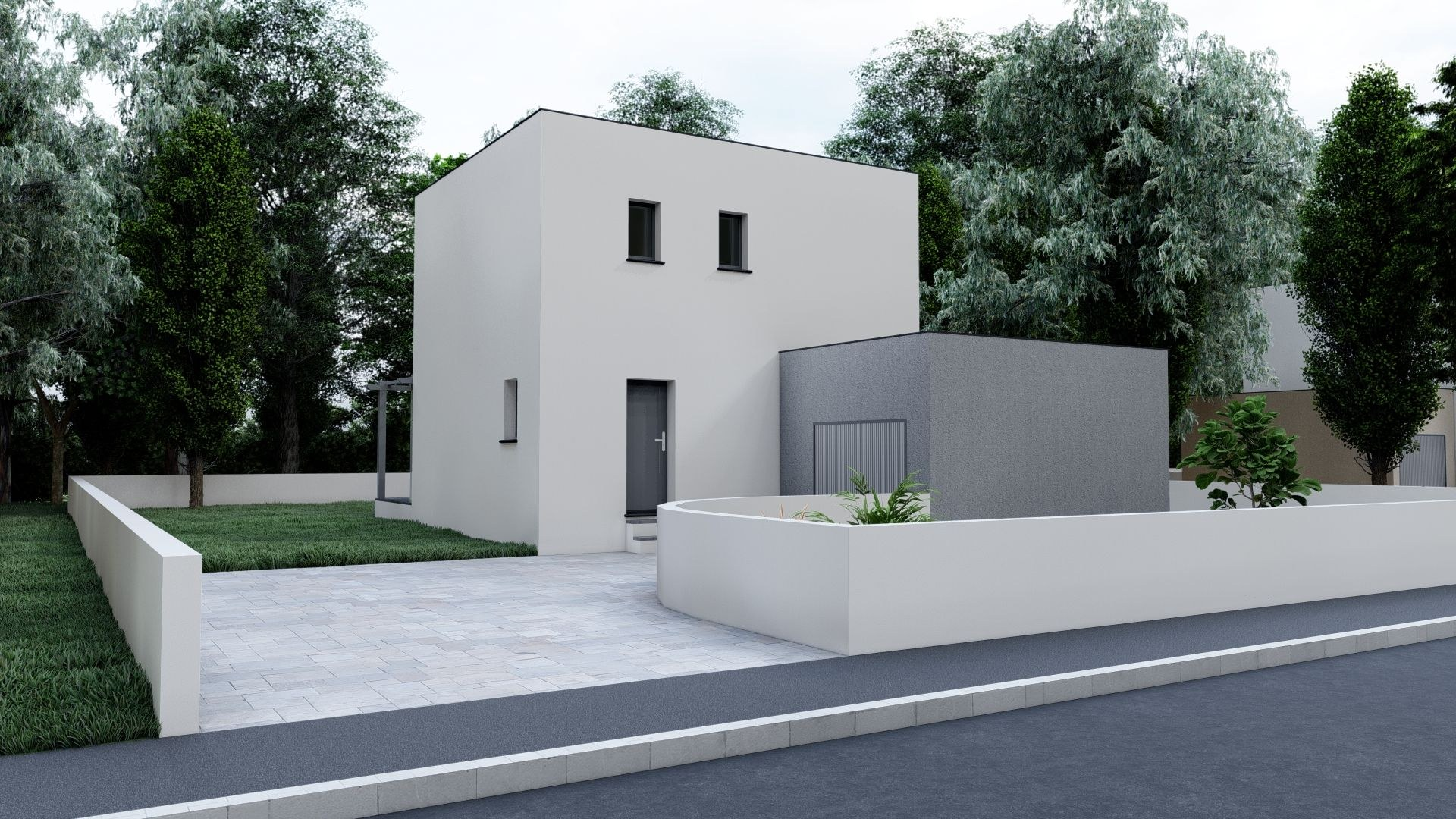 10bis- Bastide contemporaine de 80 m²