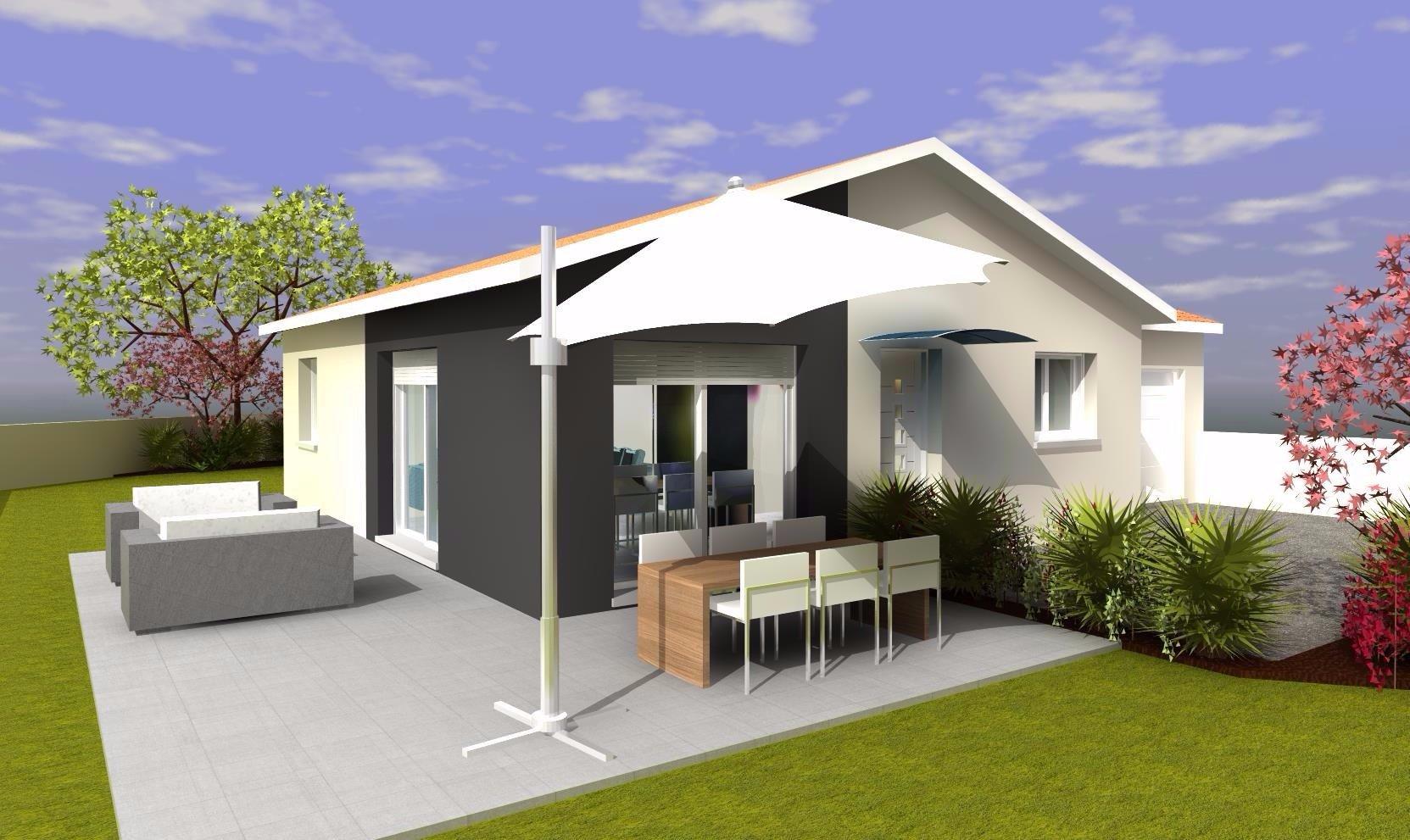 MAISONS DZ Plain pied 90m² avec garage simple