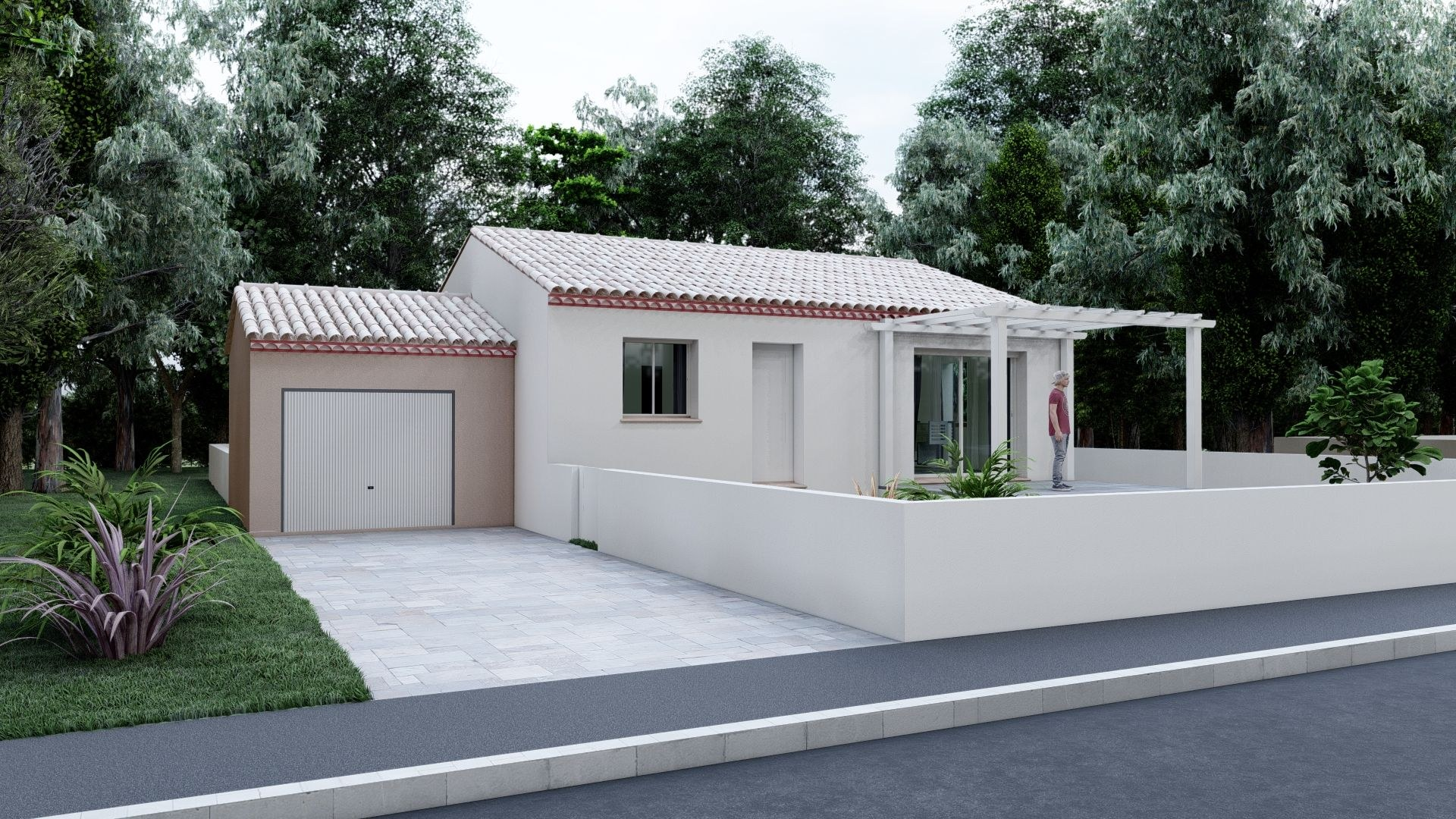 01- Plain Pied Traditionnelle 70 m²