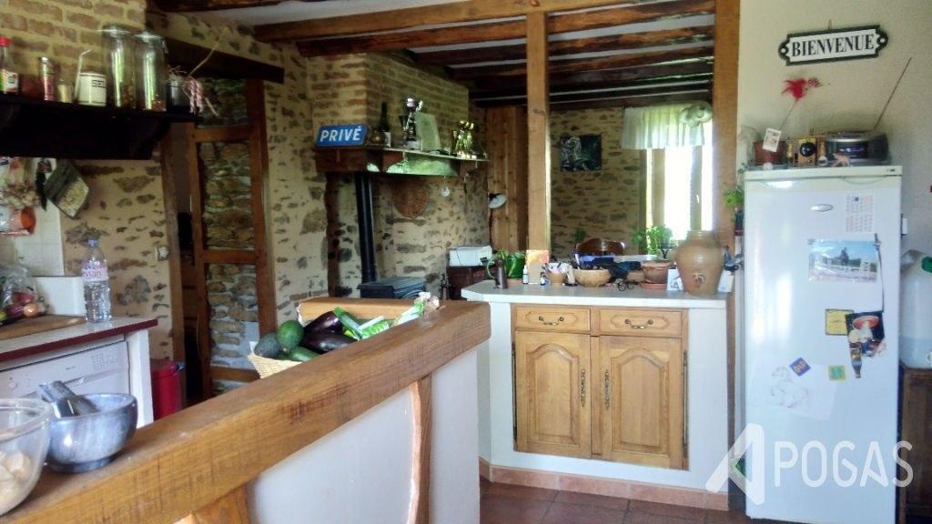 Maison en pierre  6 pièces sur 6,5 hectares - PROCHE CHALUS