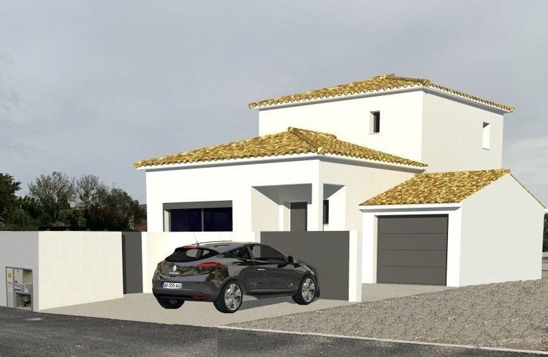 TERRAIN CONSTRUCTIBLE 420M² A PINET + VILLA A BATIR AVEC GARAGE