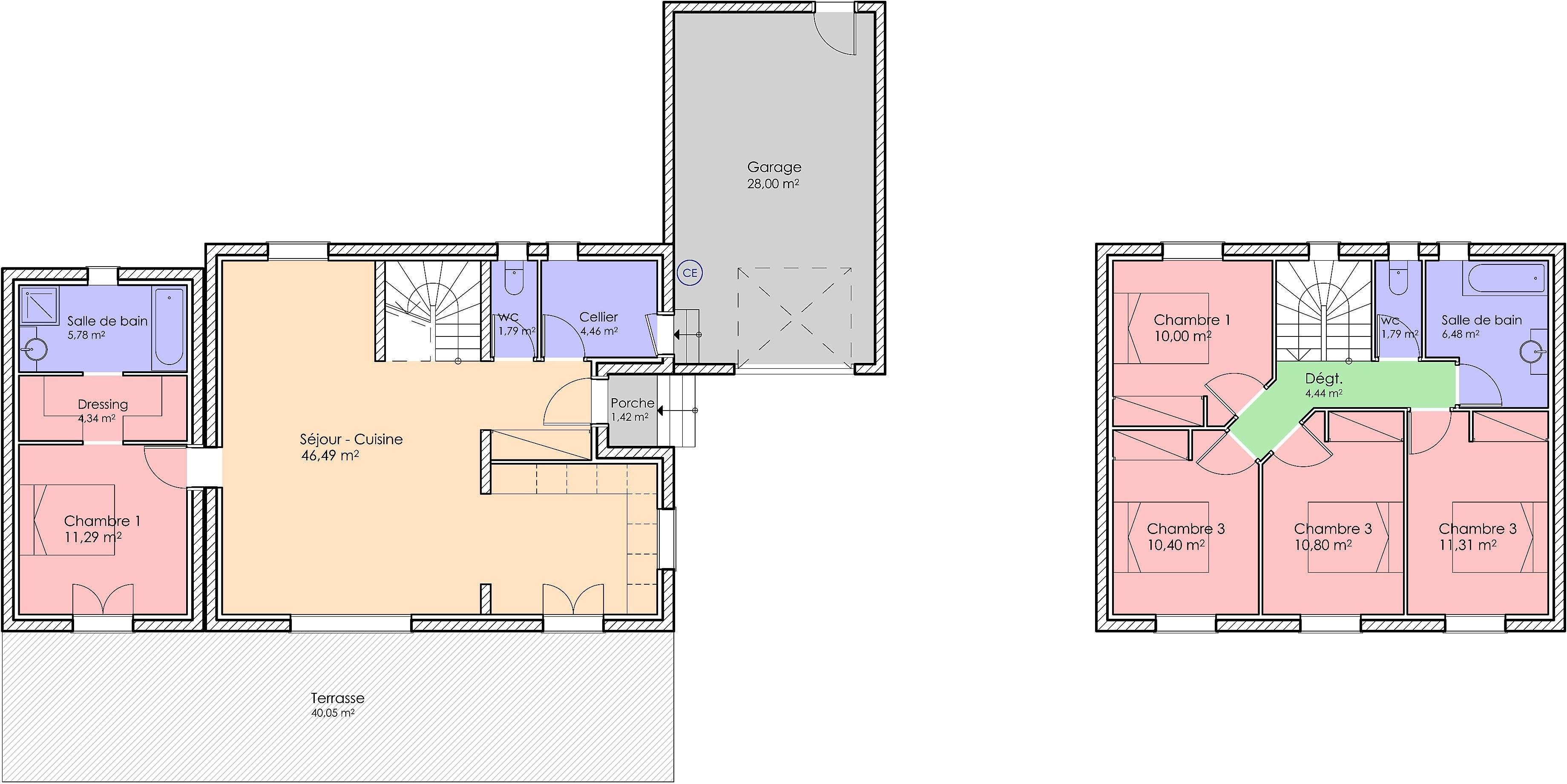 15bis- Bastide contemporaine 130 m²