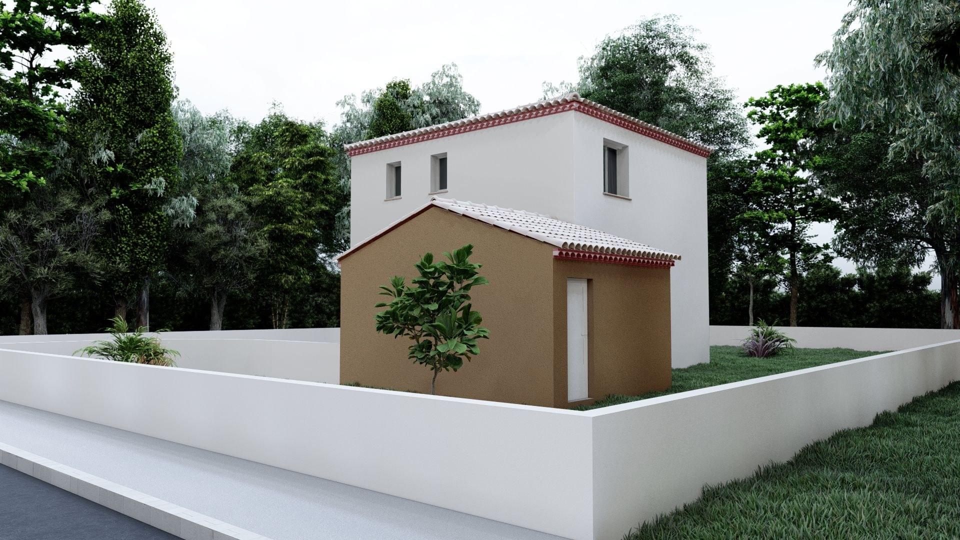 10- Bastide traditionnelle 80 m²