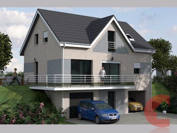 Maisons Contoz projet SOUS-SOL ref1