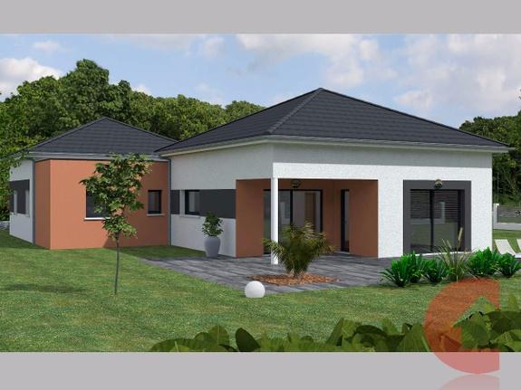 Maisons Contoz projet plain pieds Ref5