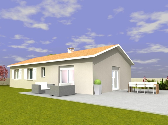 Maison à Malvalette