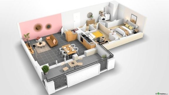 Beauvais Oise 60 Résidence Le Franc Marché centre-ville appartement neuf VEFA plan habiter investir investissement locatif loi défiscalisation Pinel réduction impôts H101
