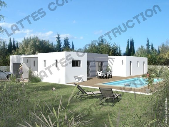 Construction - Constructeur - Batisseur - Maison architecte - Toit Terrasse - Plan personnalisable - Maison sur plans