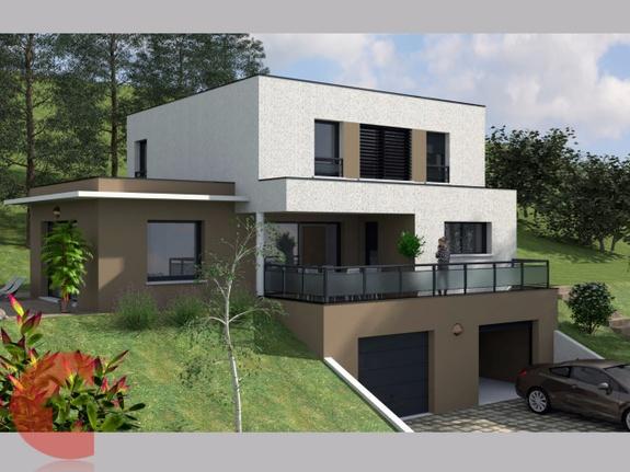 Maisons contoz toit terrasse Ref1