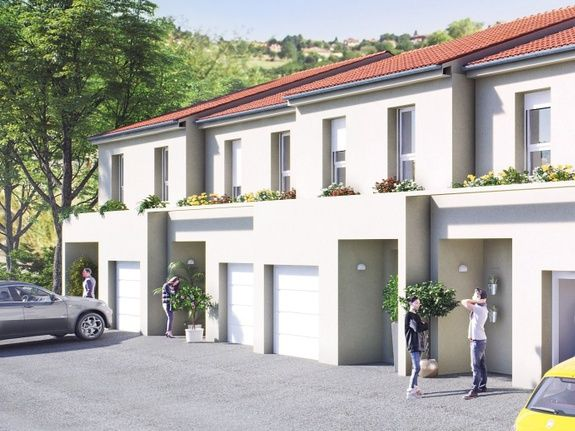 Maison neuve à vendre à Custines