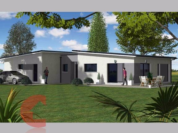 Maisons Contoz projet plain pieds Ref2