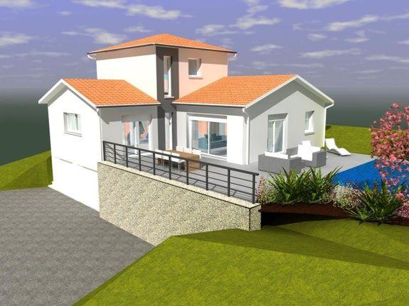 Maison à Marcenod