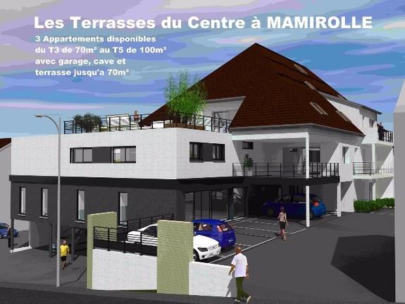 Terrasses du centre à Mamirolle