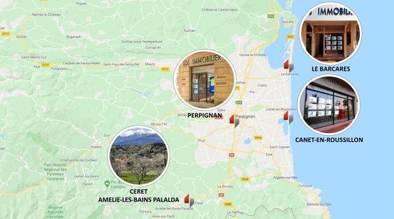 carte des agences LDJ Immobilier