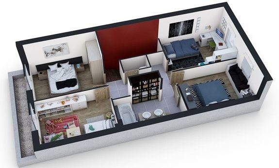 Maisons-city-maison-neuve-a-vendre-nancy-plan étage